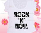 T shirt ou bata ock and Roll
