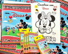 Revista kit de colorir Mickey Club House