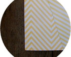 Papel Scrapbook Chevron [amarelo]