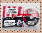 CD ou DVD Personalizado Mickey