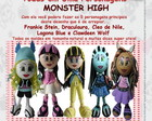 "Apostila Virtual ""Teu"" Monster High"