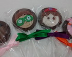 Pirulito de chocolate Super Why