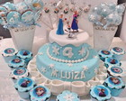 Frozen - Kit doces decorados