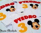"Camisetas ""Mickey & Minnie Mouse"""