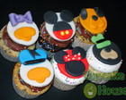 Cupcakes Turma do Mickey