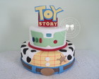 Bolo Toy Story 2 andares + Topo