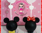 Porta foto minnie ou mickey