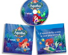 CD DVD Gravado + Envelope Pequena Sereia