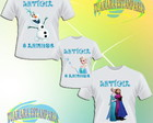 Kit Camiseta - Frozen
