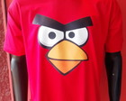 Camiseta Angry Bird Red