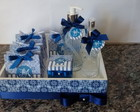 Kit toalete azul royal