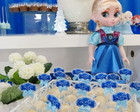 Kit 30 toppers com laços - Frozen