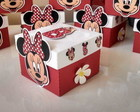 caixas Minnie Disney