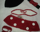Conjunto Minnie de Crochê