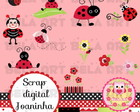Kit de scrap digital Joaninha