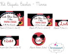 Kit Etiqueta Escolar - MINNIE