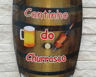 Porta 4 Chaves Barril - Cantinho Churra