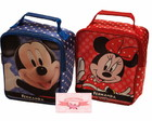 BOLSA QUADRADA MINNIE E MICKEY