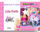 Revista de Colorir Barbie Moda e Magia