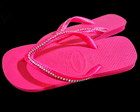 Chinelo Havaianas Pink com strass