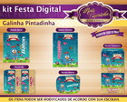 Kit Festa Digital Galinha Pintadinha