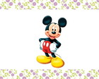 Aplique do Mickey - 5,0 cm