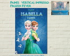 Painel FROZEN FEVER Impresso vertical