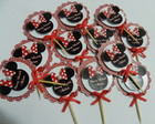 Toppers - Tags p/Doces - Cupcake