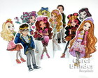 Mini Totens Ever After High 25cm c/ base