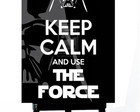 . MINI POSTER - KEEP CALM THE FORCE