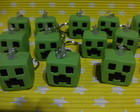 Chaveiro minecraft Creeper