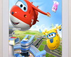 Adesivo Decorativo Porta Super Wings