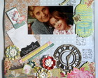 Quadro de scrapbooking: Remember