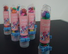 Tubetes decorados My Little Pony