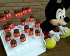 Marshmalow coberto de chocolate Mickey
