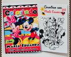 Revista de colorir Mickey & Minnie
