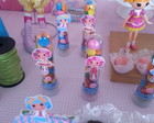 Tubetes decorados Lalaloopsy