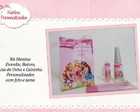 Kit Barbie Escola de Princesas