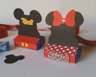 Porta chocolate- Duplo - Mickey e Minnie