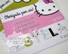 Papelaria personalizada Hello Kitty