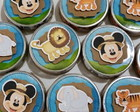 Latinha Personalizada Mickey Safari