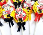 Minnie - Topper para doces