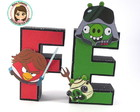 Letras 3D Angry Birds Star Wars