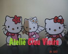 ENFEITES DE MESA HELLO KITTY