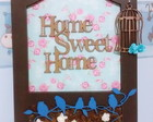 Plaquinha Decorativa 'Home Sweet Home'