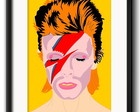 Quadro David Bowie Ziggy com Paspatur