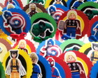 Lego Avengers - Topper para doces