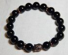 "Pulseira Budha ""Black Diamond """