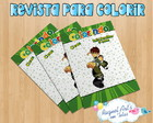 Mini Revista de colorir Ben 10