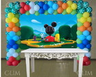 Painel Grande Casa do Mickey Mouse